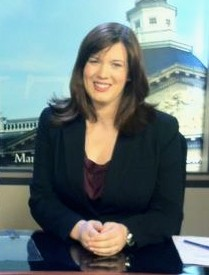 Katelin Wangberg Anchoring for Maryland Newsline